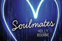 Soulmates by Holly Bourne / Every so often, two people are born who are the perfect match for each other. Soulmates. But while the odds of this happening are about as likely as being struck by lightning, when these people do meet and fall in love, thunderstorms, lightning strikes and lashings of rain are only the beginning of their problems... 
