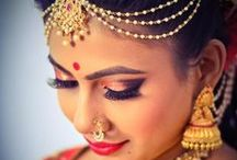 Bridal LookBook / We are bridal makeup ninjas! Call us at 080-23531518 or Whatsapp Vejetha Anand at 9880381518 for bridal makeovers, spa and salon services in Bangalore.