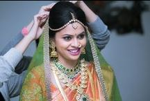 South Indian brides / Get inspired by some of the traditional South Indian brides