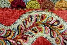 Rapturous Rags / Rag rugs, recycled fabrics, floor coverings