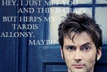Allons-Y /  We are Whovians. / by ArmAnd Vazquez
