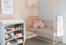 Beautiful Nursery / Baby Nursery Inspiration