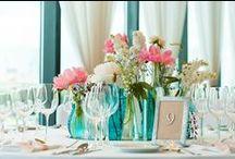 Butelkowe dekoracje / Dekoracje: Rock&Flowers Fotografia: www.pgdstudio.pl  Wedding Show PowiedzmyTak