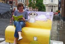 Usborne That's not my... book bench / Usborne Publishing is teaming up with the National Literacy Trust to bring you That's Not My Bench! More details on our website: www.usborne.com/bookbench