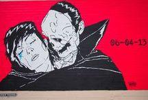 Street Art / Street art with #music #cinema and #videogames theme