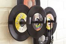 Upcycling Recycling / Upcycling vinyls, records, decoration, inspiration