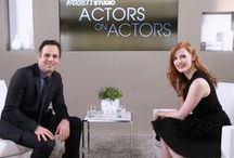 Actors on Actors / One-on-one conversations between actors and actresses including Benedict Cumberbatch, Jake Gyllenhaal, Reese Witherspoon and Jessica Chastain in discussion with one another about their craft and films.