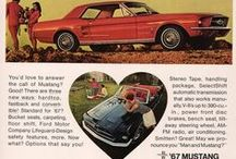 Mustang Love ❤ / Ford Mustang Vintage Ads