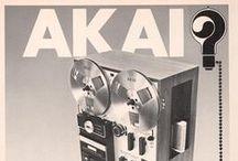Akai Play & Replay / Akai Electronics Vintage Ads