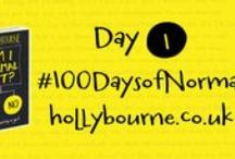 #100DaysofNormal