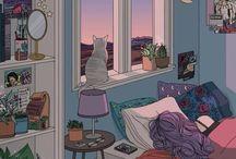Kedi & kahve & kitap
