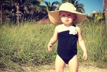 little girl beachwear
