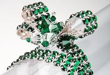 Colour of the year 2013 - Emerald / Pantone® Colour of the Year 2013 - Preciosa Emerald