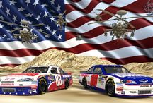 NASCAR RACING  / by Wife2Apache36