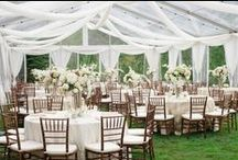draping / Beautiful #draping with fabric gives a tent or event space a softer more romantic feel. #eventdraping #fabricdraping