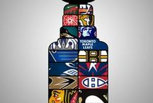 Ice Hockey Man Cave / Give your Ice Hockey Man Cave the look you like. Get inspired! www.sportyshades.com has sport logo window shades for all NHL-teams! Makes a perfect gift for your sports loving grand child, sister or best friend! / by SportyShades.com