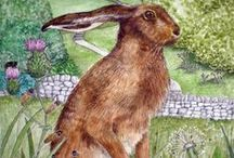 Magical Hares...... / There is just something about them....