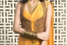 Sarees,Lehengas&Cholis and the in-betweens / Cover up the Indian way!  / by Sylvia Perimal