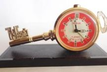 Clocks, Alarm clocks and Pocket watch / by Megi Ilieva