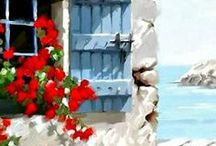 SUMMER IS HERE /  ΤΟ ΚΑΛΟΚΑΙΡΑΚΙ .....