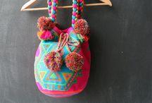 Inspiratie Wayuu mochila techniek/tapestry
