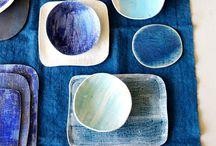 Keramik/træ kunsthåndværk