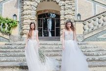 Tuscany - Italy - Shooting 2016 / Photography: Diana Frohmüller | Models: Giulia & Martinas |  Location: Tuscany - Italy | Fashion: EMANUEL HENDRIK - Mix & Match / Body Suits - Hotness - Sparkle / Skirt  - Tully - Tullina | White - Ivory | Lace - Tulle - Chiffon - Duchesse | made in Düsseldorf - Duesseldorf - Germany | Wedding - Destination - Beach - Festival - Wild - Party - Boho - Vintage - Barn - Glamour - Outdoor - Ballerina | Wedding Dress | Fashion - Bridal Couture