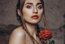 Rose - Styled Shooting 2017 / Photography: Nick Lauckner  |  Model: Jana Gagalik |  Location: NOIRstudio |  Fashion: EMANUEL HENDRIK - Mix & Match / Bodysuits - Hotness LZ / Skirt - Victoria - Selena / Train - Sully