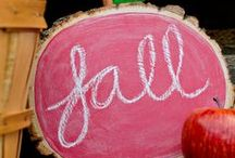 FOR FALL (AND THANKSGIVING) / Leaf Piles - Pumpkin Recipes - Lattes - Fall Decor - Thankfulness - Turkey Dinner