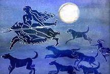 Gods/Goddesses/Shamans/Volvas/Seers... / by Alafosca