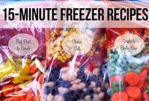 Freezer cooking / Freezer Friendly Recipes and Tips / by Keeper of the Home - Stephanie Langford