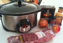 Recipes Crockpot/slowcooker / by Monica van Genderen