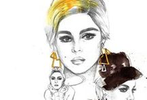 Fashion Illustrations / Sensational  fashion sketches  that will inspire you! / by Jamie Perkins