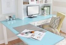HOME OFFICE INSPIRATION / Decorating Ideas for Our Home Office.