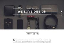 Web & Mobile / Inspiration for web or mobile design / by Victoria Montilla