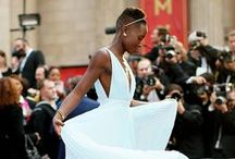 Lupita Nyong'o's  World-Changing Style / You don't become an international fashion sensation by accident, any more than you become an Oscar-nominated actor by accident. / by Jamie Perkins
