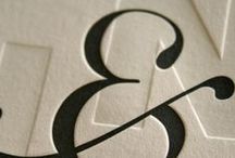 Special characters / Dedicated to the beautiful swashes, elegant ligatures and decorative ampersands that make me drool.