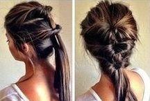 HAIR IDEAS / Hair tutorials for beautiful, fun hair styles.