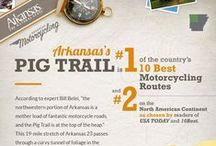 Arkansas Motorcycling / Arkansas is full of scenic byways, curving roads and friendly people. Get out and ride Arkansas!