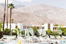 Palm Springs / If you haven't visited Palm Springs, it should probably go near the top of your 2015 travel destinations.  / by Modernica / Case Study Furniture