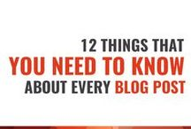 How To Start A Blog / So you have heard of this #blogging thing but you are not sure where to start. This is where you can find all of the tips on #blogging that you need.