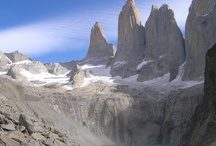 Torres del Paine National Park, Chile / Torres Del Paine National Park famous for its granite pillars, lakes and mountains.