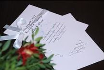 Kirchenhefte Hochzeit & Taufe / Das die Trauungszeremonie begleitende Kirchenheft ist für Ihre Gäste eine schöne Erinnerung an Ihre Hochzeit.