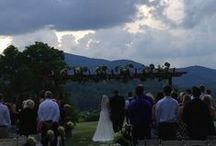 Sunset Pavilion and Sunset Terrace  / by Brasstown Valley Resort and Spa