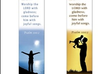 Scripture Bookmarks / Warren's Bible bookmark creations with popular Scriptures; free to print for personal use only.