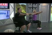 Exercise Central / Exercises and exercise videos for every fitness level of every exercise type, i.e. body weight, senior, teen, disabled, resistance bands, dumbbells.   / by Brenda Gaines Hunter