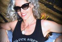 Set your hair freeeeeee! (Gray/silver hair) / Natural Beauty and Self-Revelation <3  / by Sara Sophia Eisenman