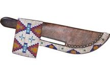knife sheath/knives / by Connie Oar
