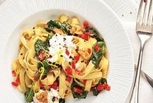 Pasta, Grains & Noodles / Healthier pasta and grain-based dishes.