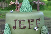 Hunters birthday cake / Hunters birthday ideas